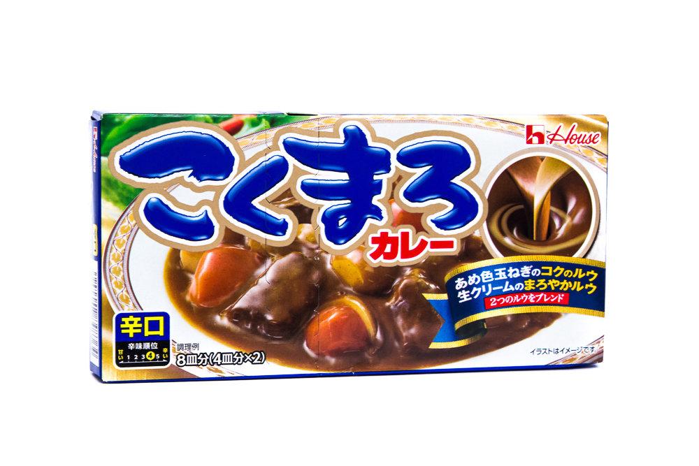 HOUSE KOKUMARU CURRY KARAKUCHI 140g