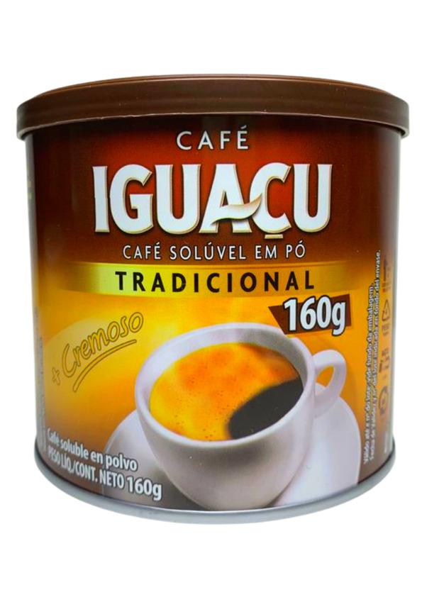 IGUACU CAFE SOLUVEL 160g LATA