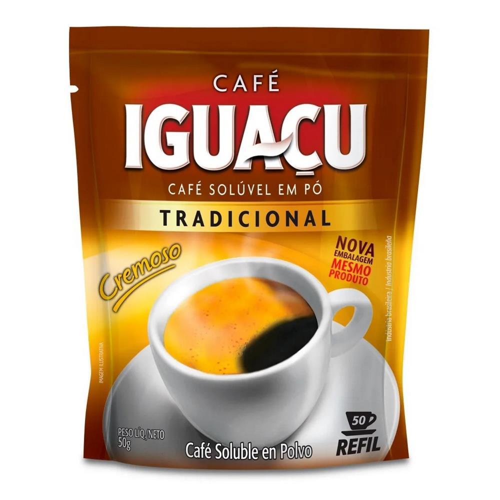 IGUACU CAFE SOLUVEL PO 50g SACHET