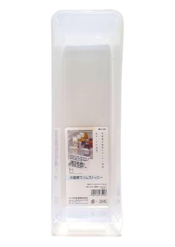 INOMATA TRAY SLIM FOR REFRIGERATOR CLEAR N.0352