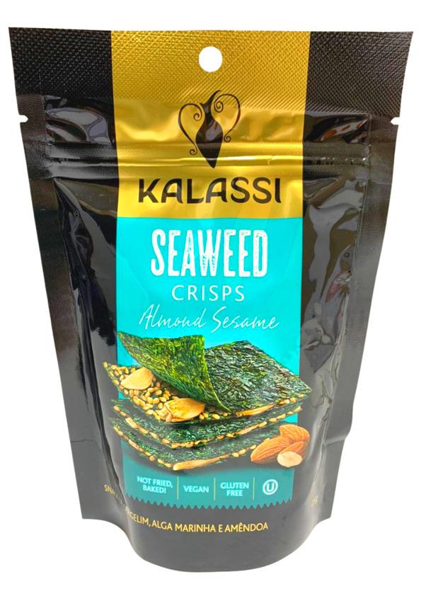 KALASSI CRISPS SEAWEED ALMOND SESAME 25g (VENCIMENTO 26/09/2021)