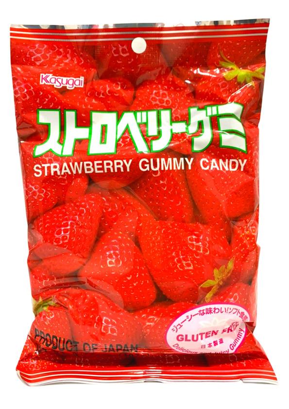 KASUGAI GUMMY STRAWBERRY 107g