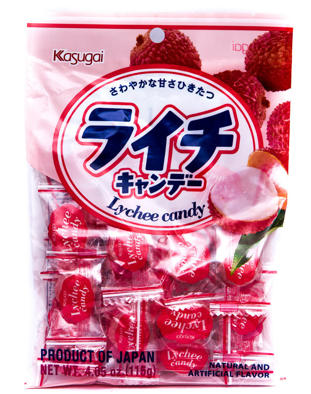 KASUGAI LITCHEE CANDY 115g