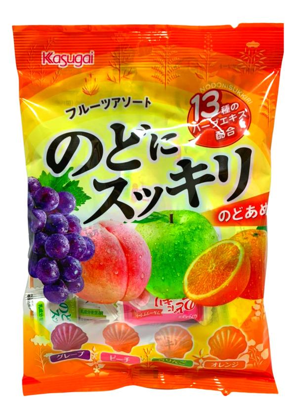 KASUGAI NODO NI SUKKIRI FRUITS 118g
