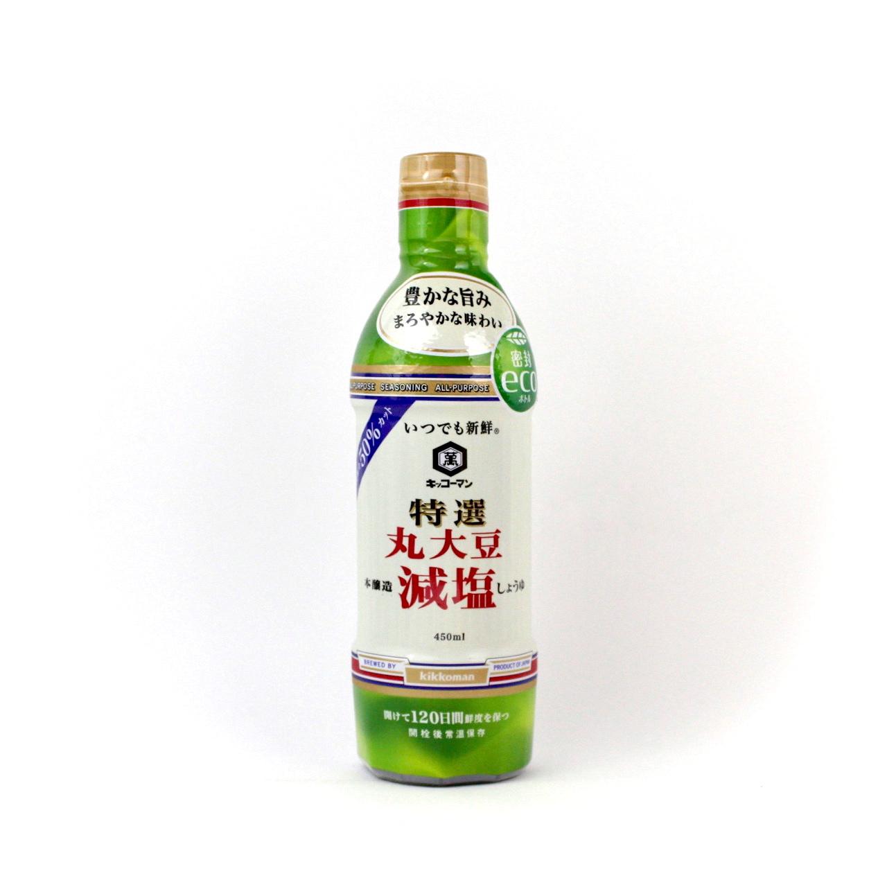 KIKKOMAN SHOYU SHINSEN TOKUSEN MARUDAIZU GENEN 450ml