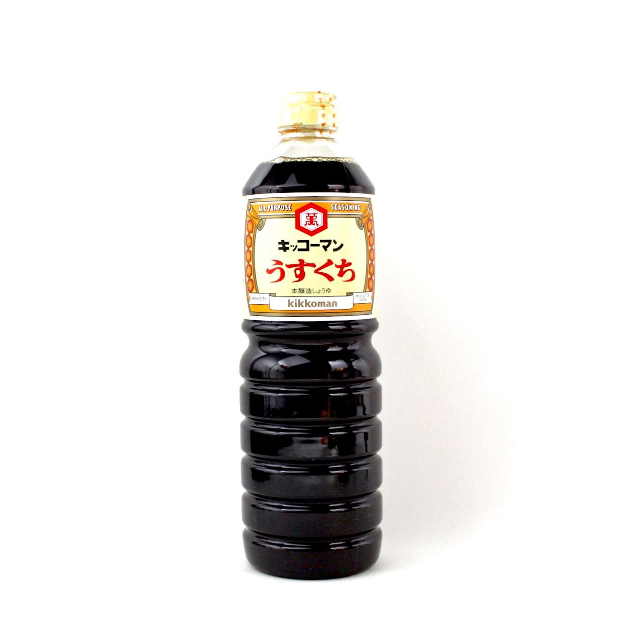 KIKKOMAN SHOYU USUKUCHI 1L