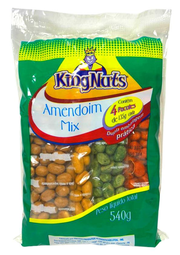 KINGNUTS AMENDOIM MIX 4P 540g