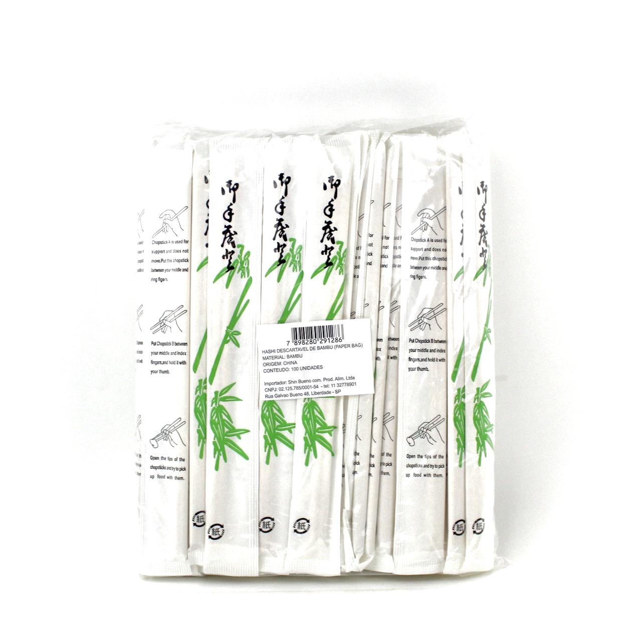 KOMATI WARIBASHI 100 PARES (PAPER BAG)