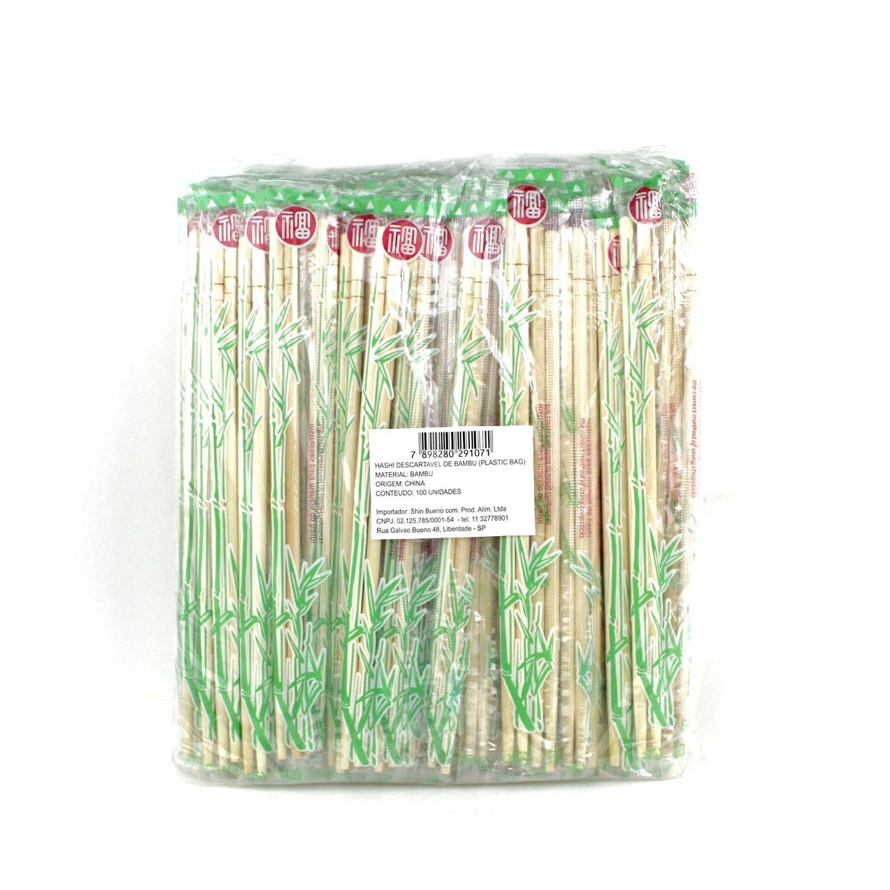 KOMATI WARIBASHI 100 PARES (PLASTIC BAG)