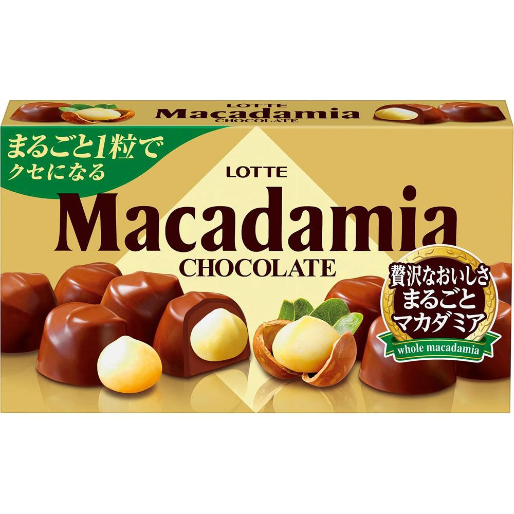 LOTTE CHOCOLATE MACADAMIA 67g