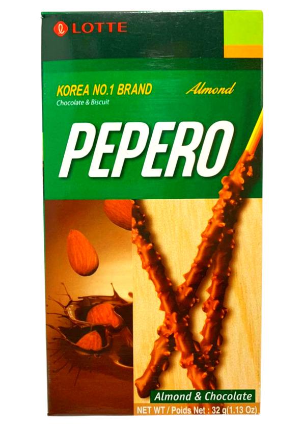 LOTTE PEPERO ALMOND 32g HN