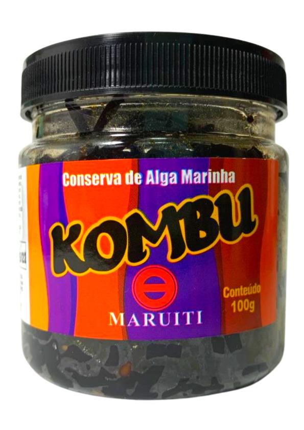 MARUITI CONSERVA ALGA MARINHA KOMBU 100g