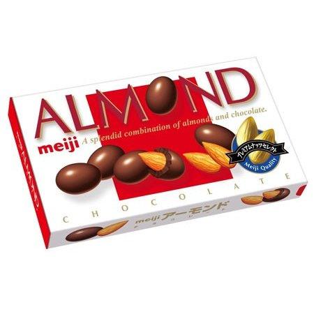MEIJI CHOCOLATE ALMOND 88g