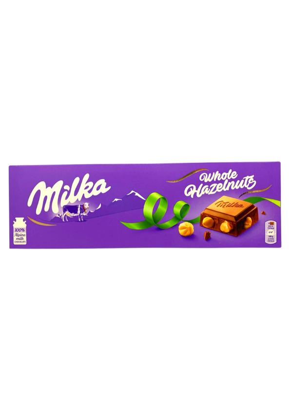 MILKA CHOCOLATE 250g WHOLE NUTS