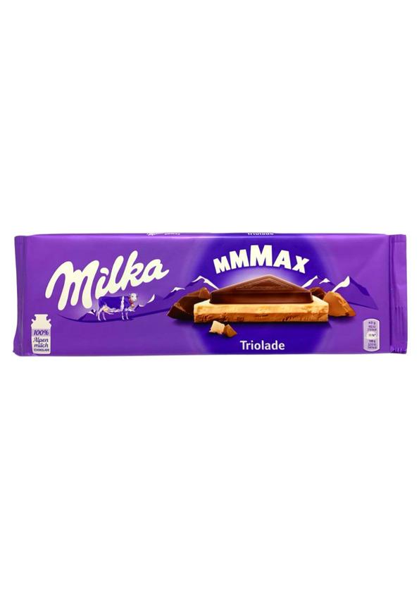 MILKA CHOCOLATE 280g TRIOLADE
