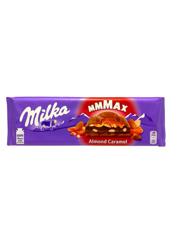 MILKA CHOCOLATE 300g ALMOND CARAMEL