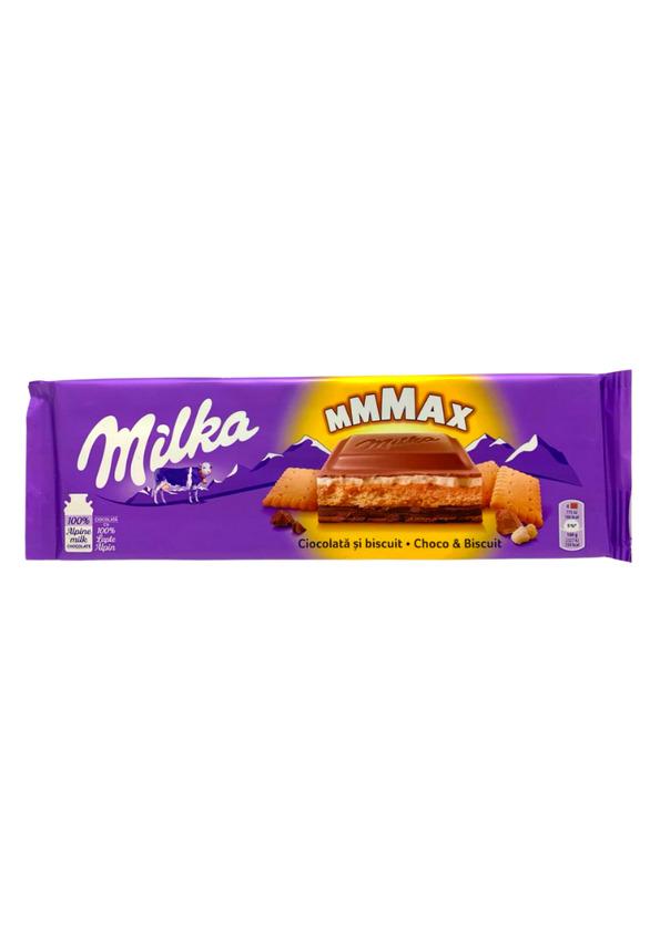 MILKA CHOCOLATE 300g CHOCO E BISCUIT