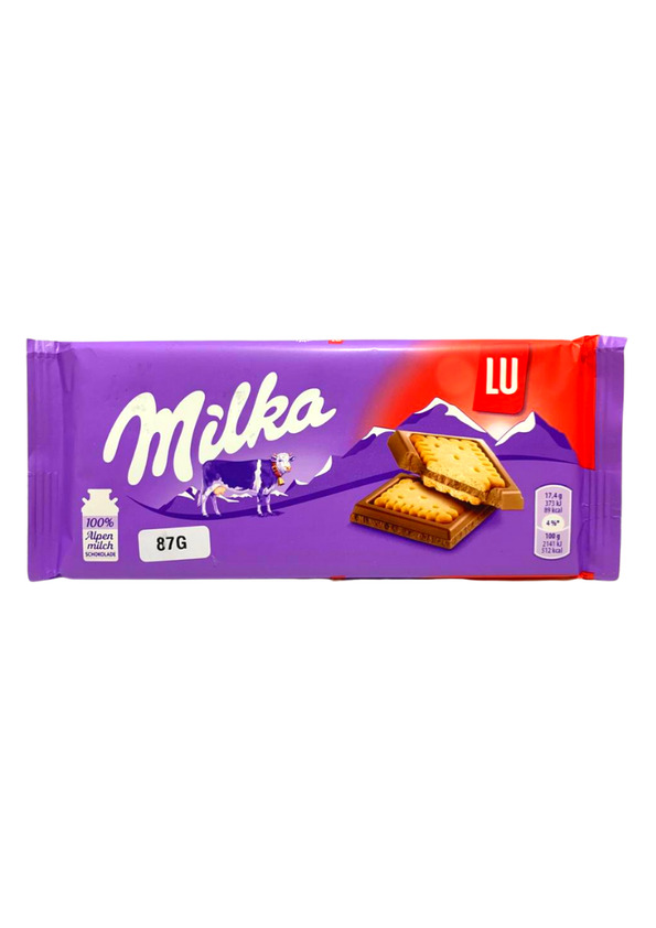 MILKA CHOCOLATE 87g LU