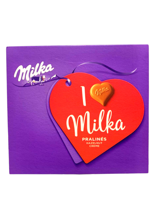 MILKA I LOVE HAZ CREAM 110g