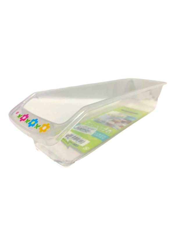 NAKAYA BANDEJA RETANGULAR K-182 CLEAR (PLASTIC TRAY)