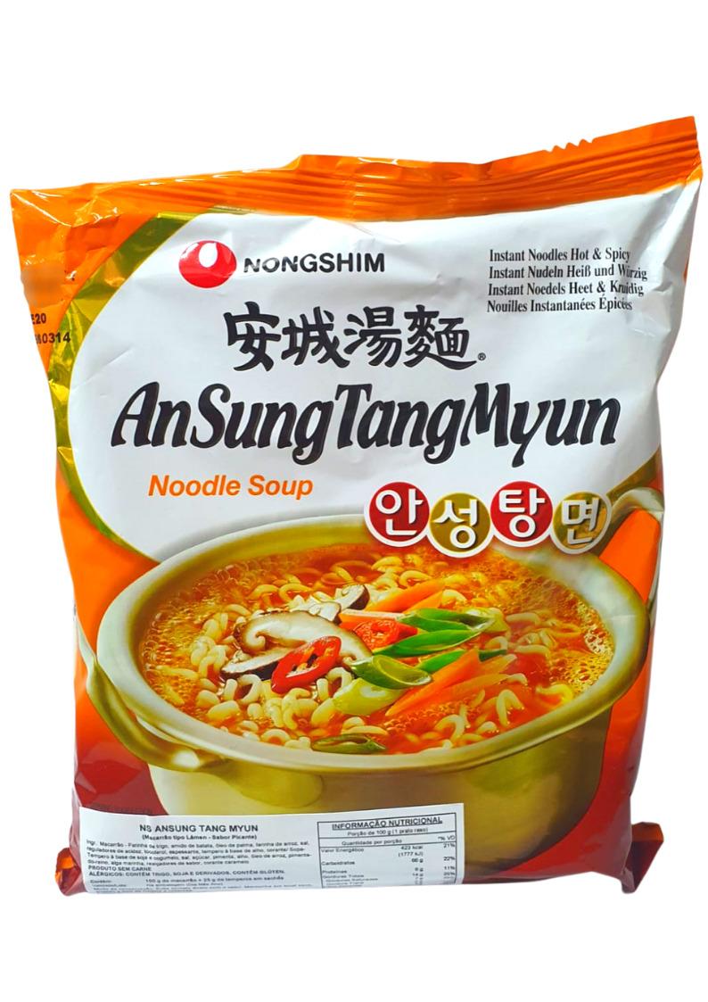 NONG SHIM LAMEN ANSUNG TANG MYUN 100g