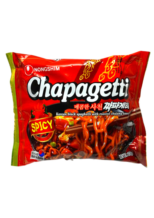 NONG SHIM LAMEN CHAPAGETTI SPICY 100g