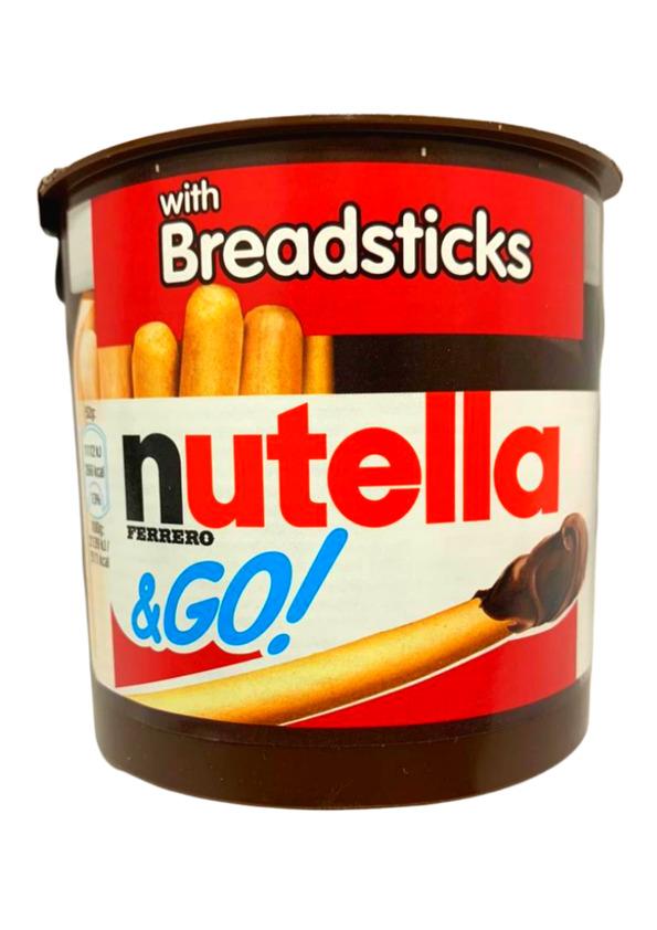 NUTELLA GO C/ PALITOS DE BISCOITO 52g