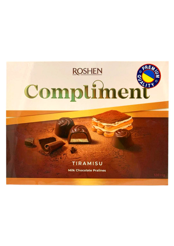 ROSHEN CHOC COMPLIMENT TIRAMISU 120g