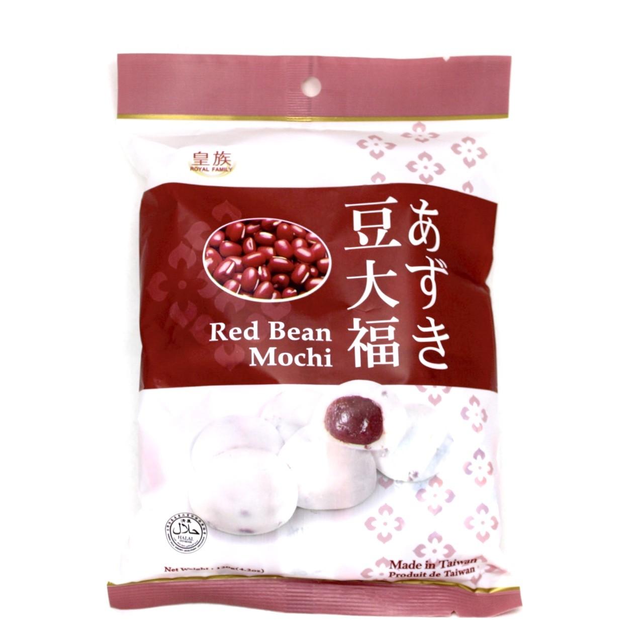 ROYAL MOCHI CAKE RED BEAN 120g