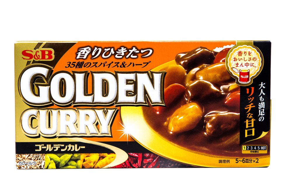 S E B GOLDEN CURRY AMAKUCHI 198g