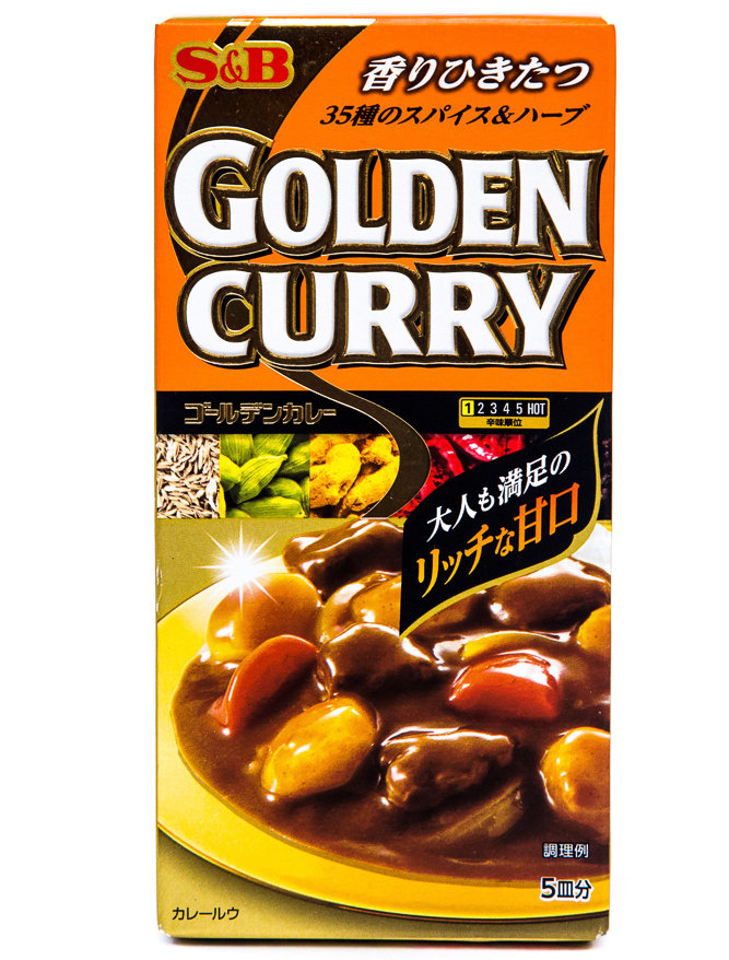 S E B GOLDEN CURRY AMAKUCHI 90g
