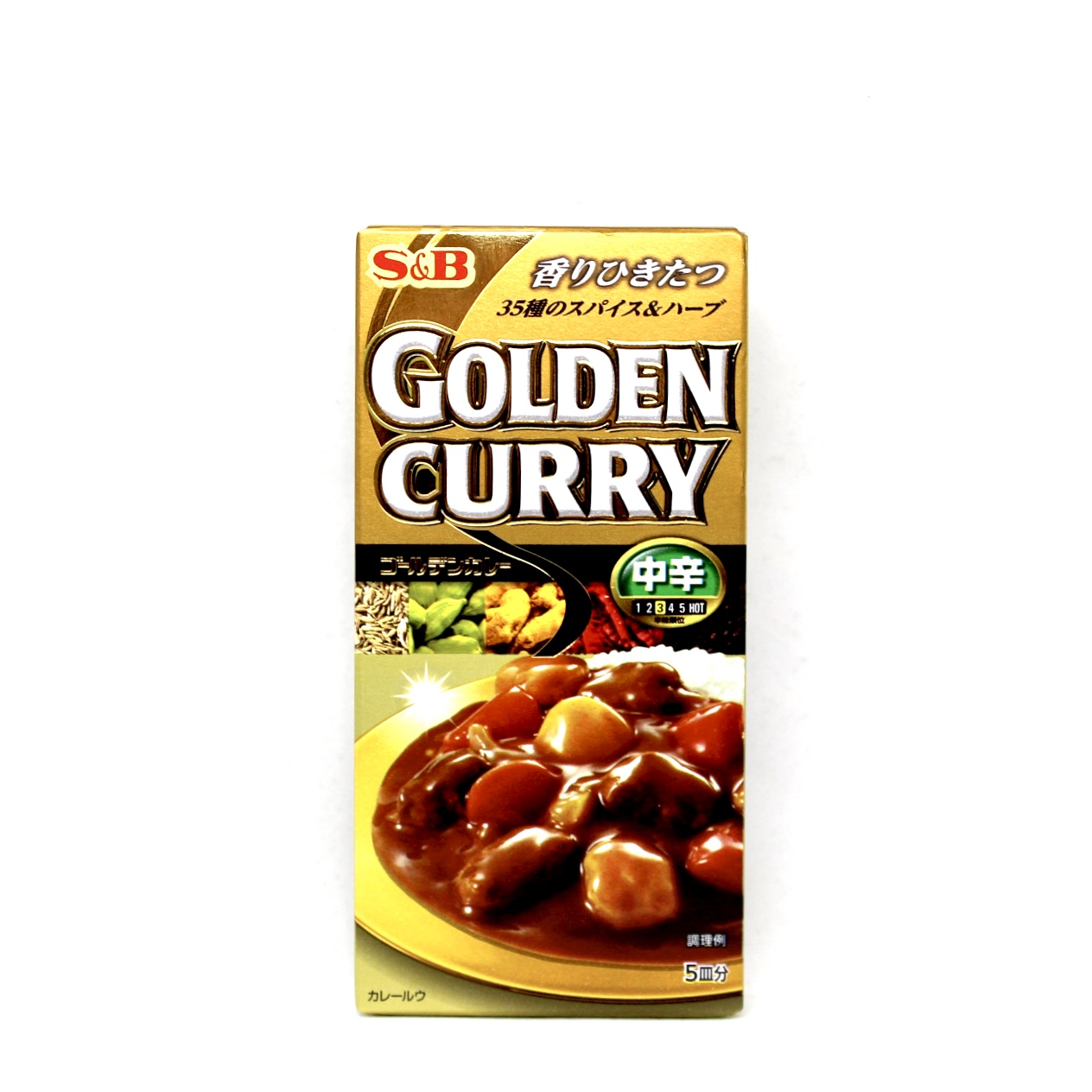 S E B GOLDEN CURRY CHUKARA 90g