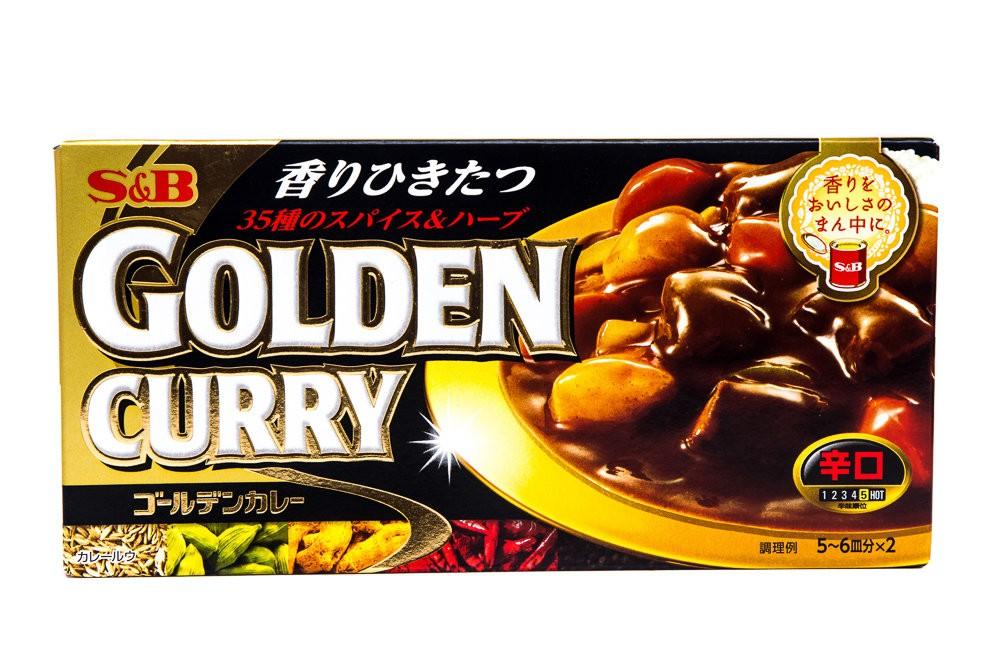 S E B GOLDEN CURRY KARAKUCHI 198g