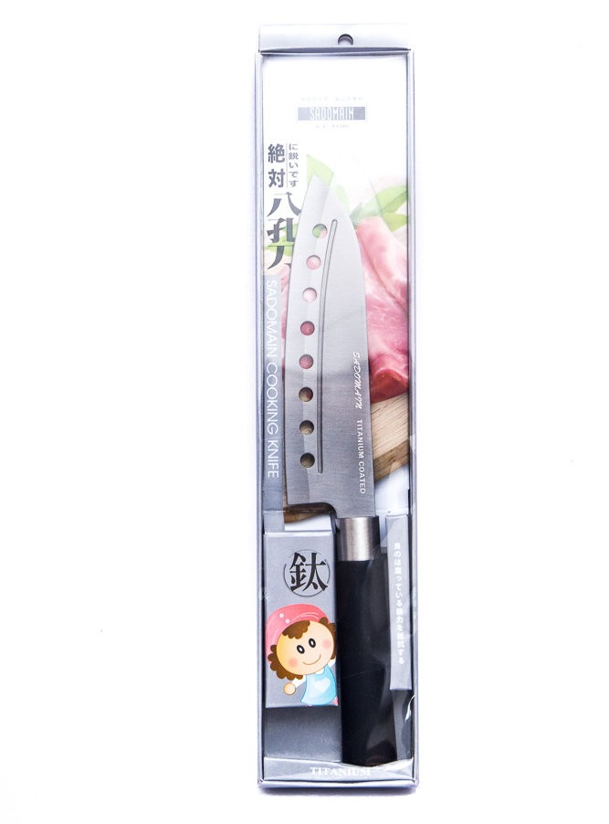 SADOMAIN TITAN SANTOKU KNIFE 30cm KK406