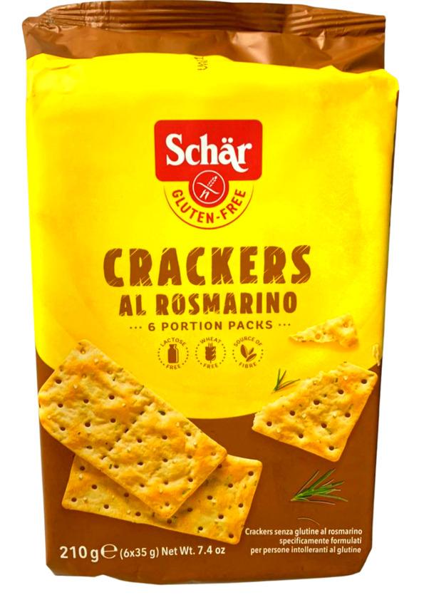 SCHAR CRACKERS AL ROSMARINO 210g