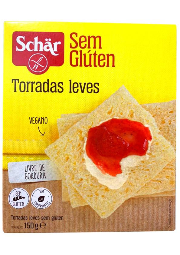 SCHAR TORRADAS LEVES 150g