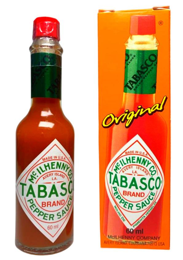 TABASCO RED PEPPER SAUCE ORIGINAL 60ml