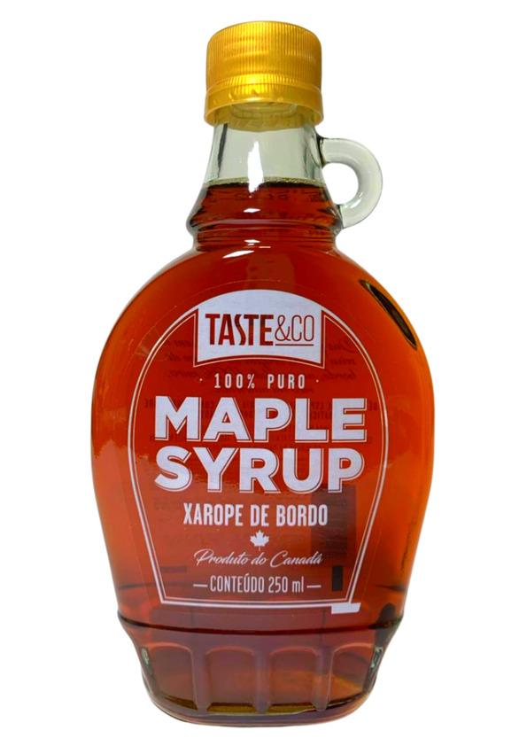 TASTE CO XAROPE DE MAPLE 250ml