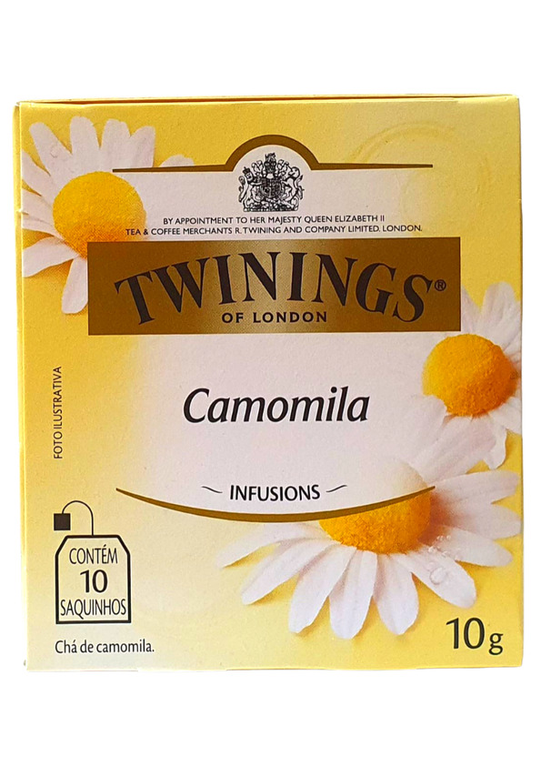 TWININGS CHA DE CAMOMILA 10P 10 g