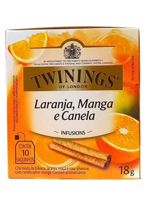 TWININGS CHA LARANJA, MANGA E CANELA 10P 18 g