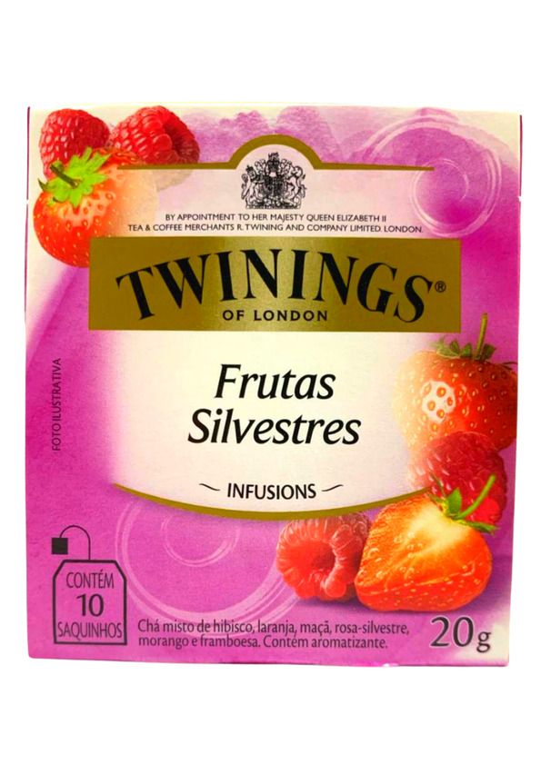 TWININGS CHA MISTO DE FRUTAS SILVESTRES 10P 20 g