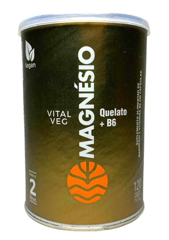 VITAL ATMAN MAGNESIO VEG 120caps 710mg