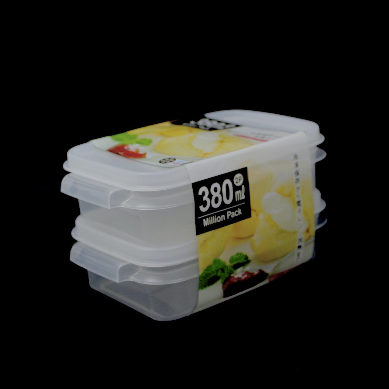 YAMADA MILLION POTE 380 ml 2UN No.523 CLEAR