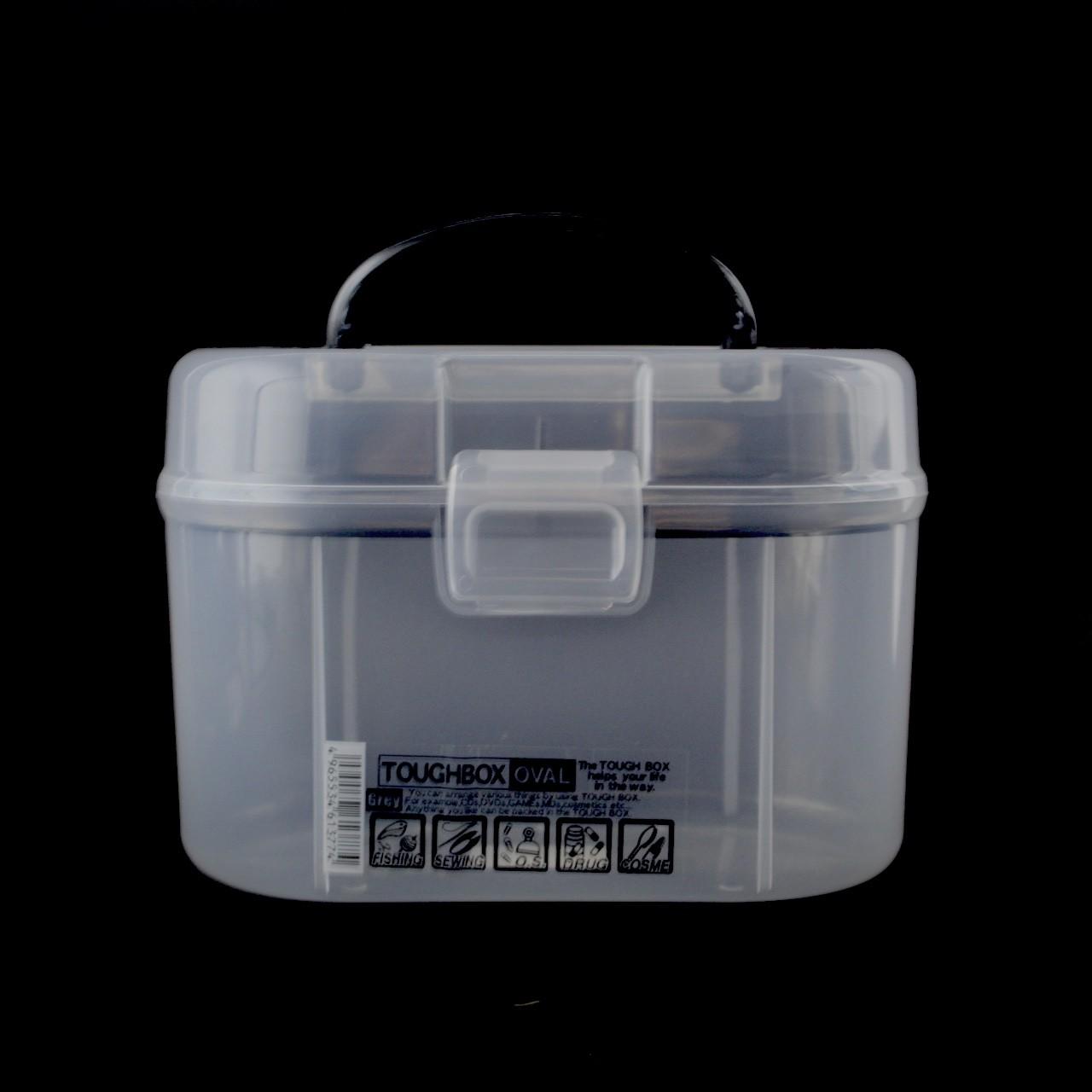 YAMADA TOUGH BOX OVAL COM ALCA 613 PRETO