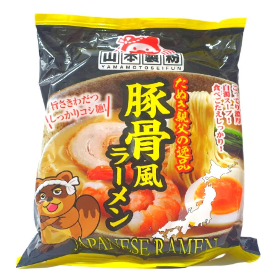 YAMAMOTO JAPANESE TONKOTSU LAMEN 90g (VENCIMENTO 22/01/2021)