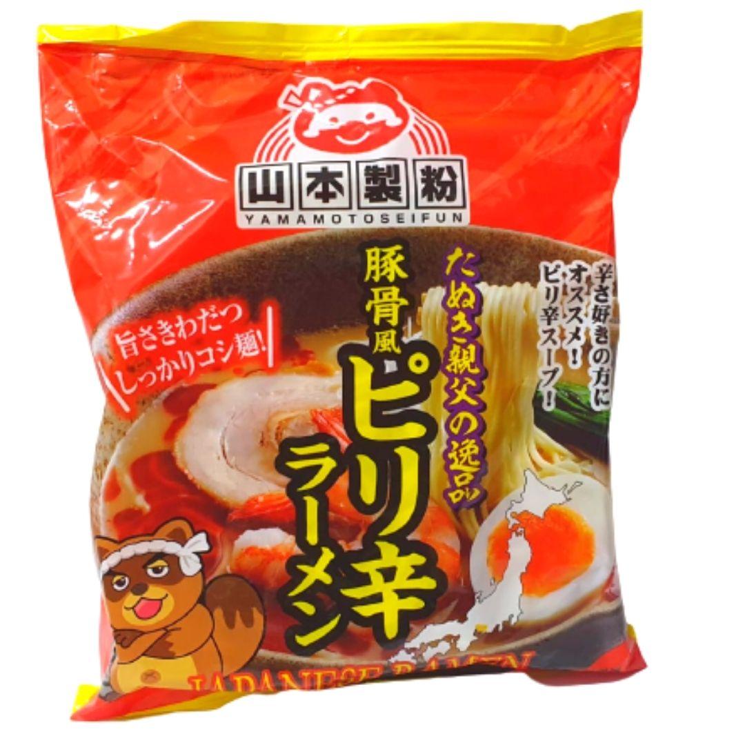 YAMAMOTO JAPANESE TONKOTSU LAMEN HOT 90g (VENCIMENTO 22/01/2021)