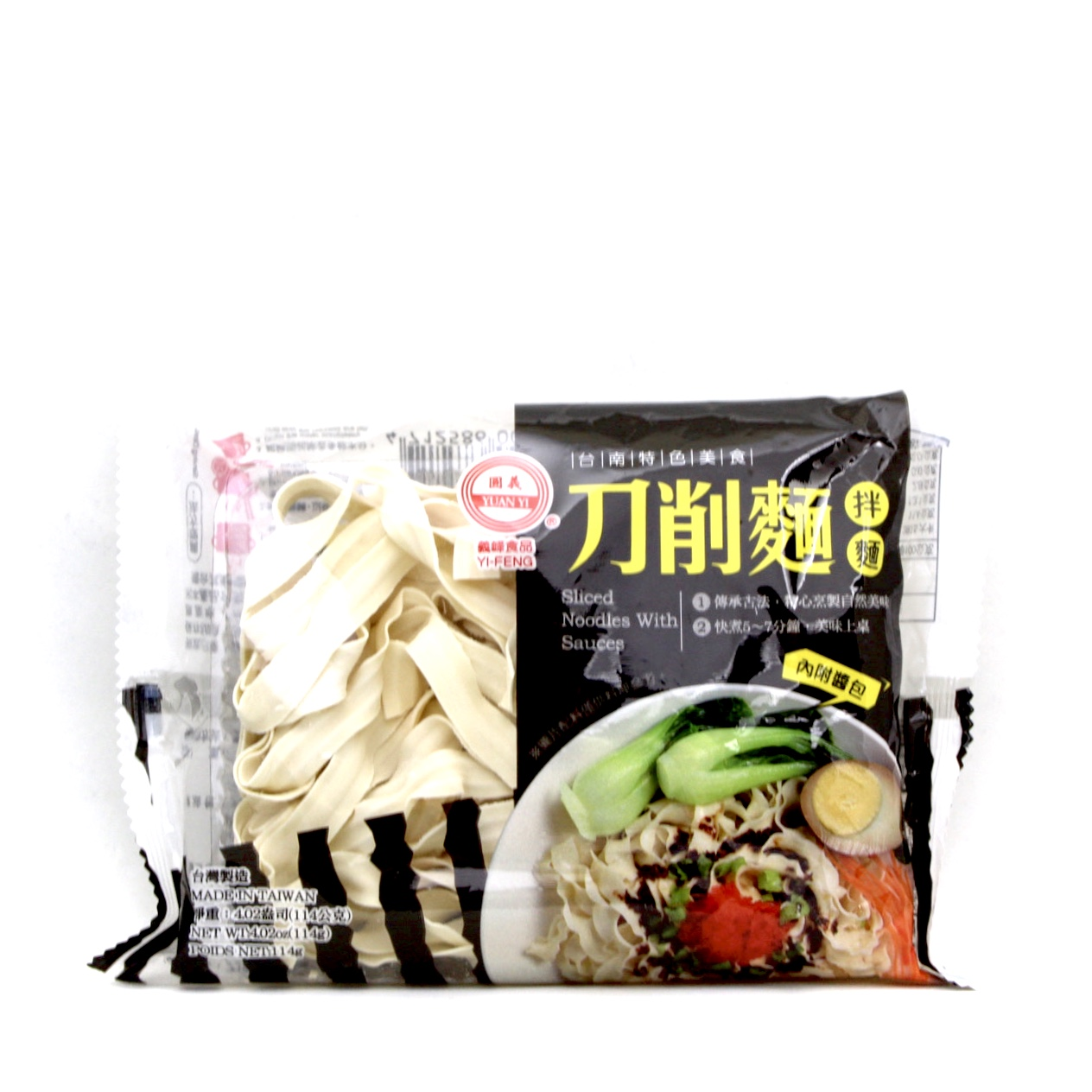 YI FENG SLICED NOODLE WITH SAUCE ONION 114g