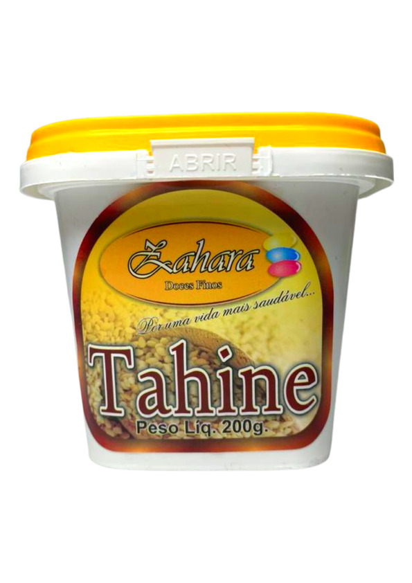 ZAHARA TAHINE PASTA DE GERGELIM 200g