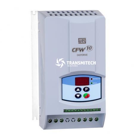 INVERSOR DE FREQUÊNCIA WEG CFW-10 3CV 220V MONOFÁSICO 10(A)