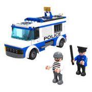 Blocos De Montar Esquadrão Da Polícia Dm Blocks 194 Peças